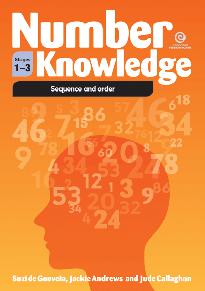 Number Knowledge: Sequence and order (Stages 1-3) Cover
