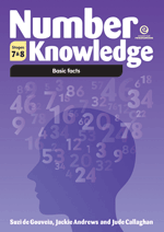 Number Knowledge: Basic facts (Stages 7 & 8 )