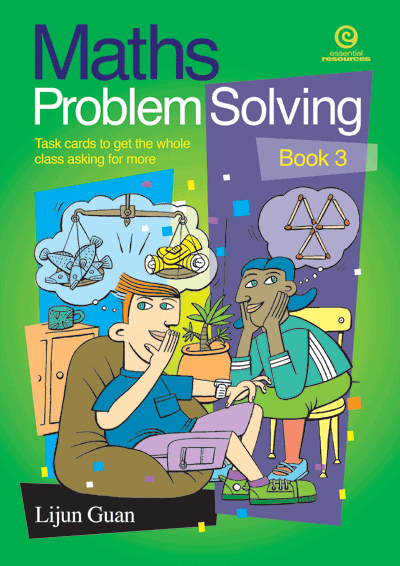 Maths Problem Solving: Task cards Bk 3 Cover