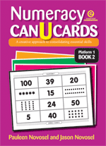 Numeracy CAN U CARDS Yrs 1-3 Platform 1 Bk 2