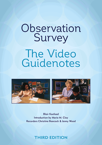Observation Survey — The Video Guidenotes Cover
