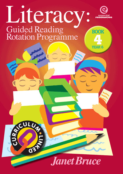 Literacy: Guided Reading Rotation Programme Bk 4 Cover