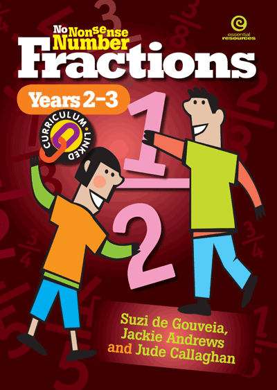 No Nonsense Number Fractions (Y 2-3) Cover