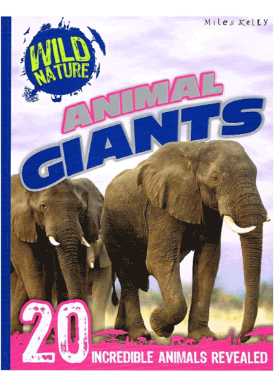 Wild Nature Animal Giants Cover
