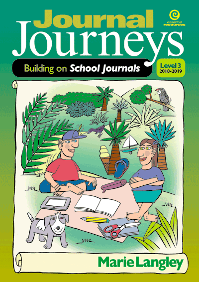 Journal Journeys, Level 3, 2018-2019 Cover