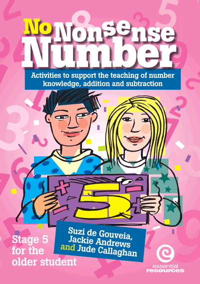 No Nonsense Number: Stage 5 For Older Students Cover