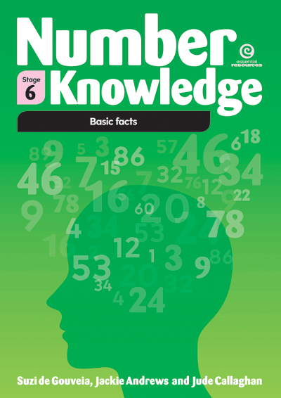 Number Knowledge: Basic Facts (Stage 6) Cover