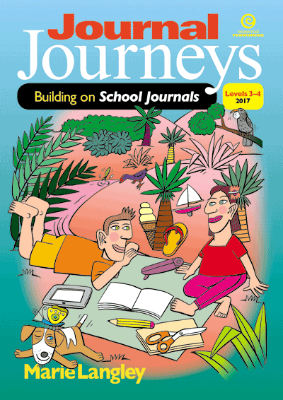 Journal Journeys, Levels 3-4, 2017 Cover