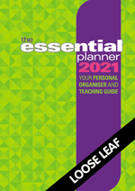 The Essential Planner 2021 Loose leaf