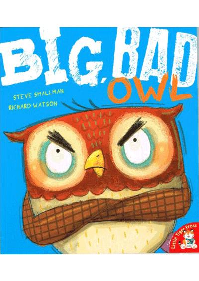 Big, Bad Owl Cover