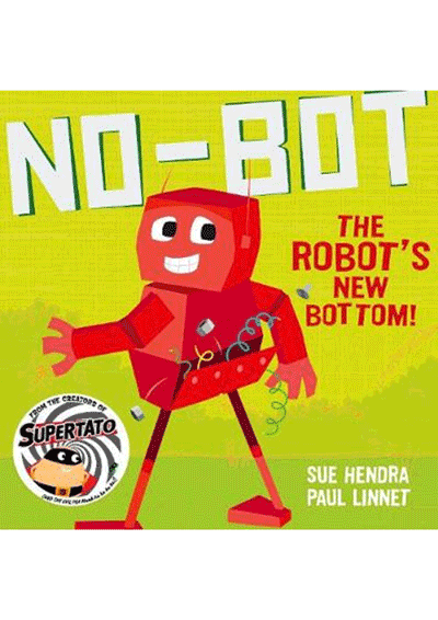 No-Bot  the Robot's New Bottom Cover