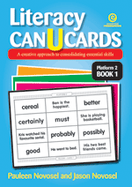 Literacy CAN U CARDS Platform 2 Bk 1