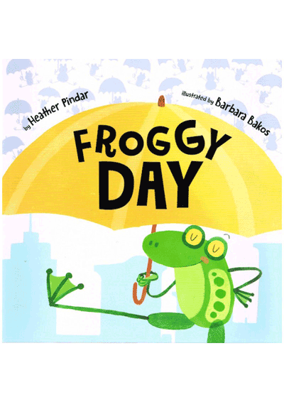 Froggy Day Cover