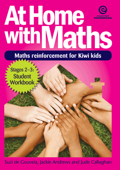 At Home with Maths - Reinforcement for Kiwi kids (Stgs 2-3) Cover