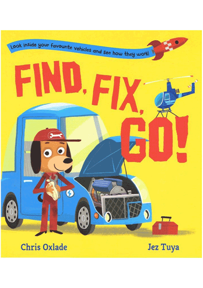 Find, Fix, Go Cover