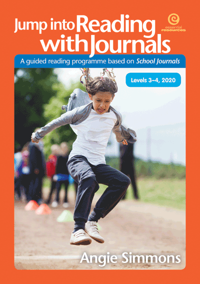 Jump into Reading with Journals, Levesl 3-4, 2020 Cover