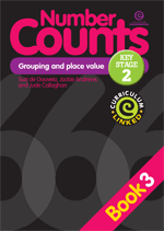 Number Counts: Grouping and place value  (KS2) Bk 3
