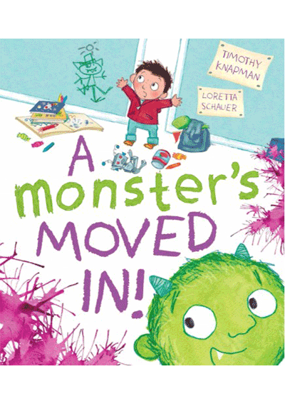 A Monster's Moved In! Cover