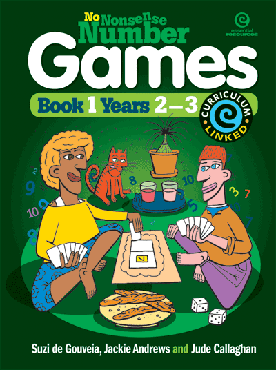No Nonsense Number Games Bk 1: Yrs 2-3 Cover