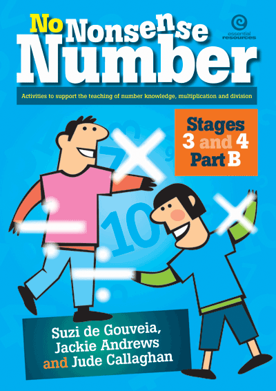 No Nonsense Number - Mult & Div: Stages 3&4 Part B Cover