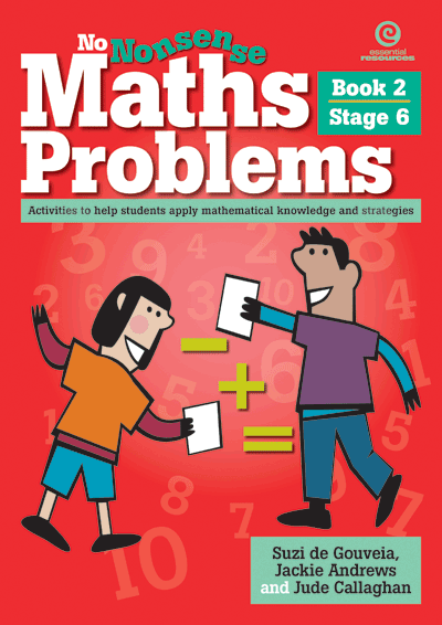 No Nonsense Maths Problems Stage 6 Bk 2 Cover