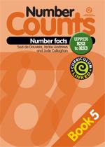 Number Counts: Number facts (Upper KS2-3) Bk 5