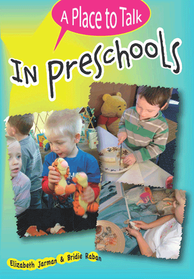 A Place to Talk in Preschools Cover