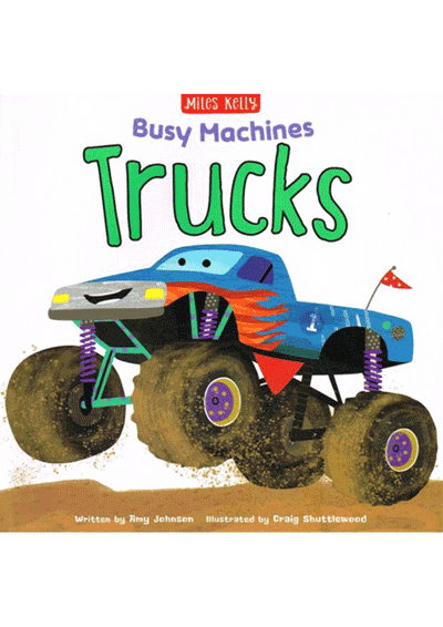Busy Machines - Trucks Cover