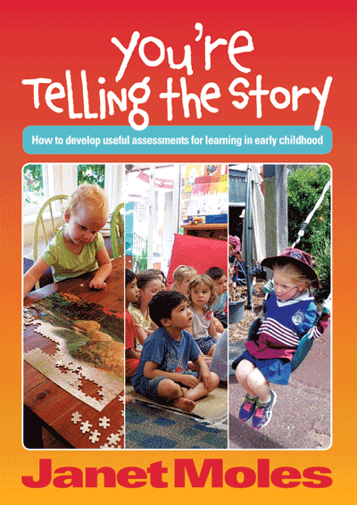 You're Telling the Story Cover