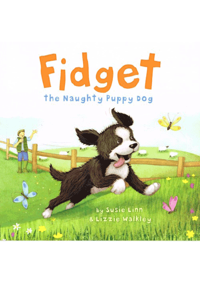 Fidget the Naughty Puppy dog Cover