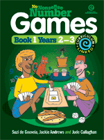 No Nonsense Number Games Bk 1: Yrs 2-3