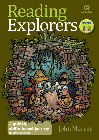 Reading Explorers Bk 3 Yrs 8-9 Cover