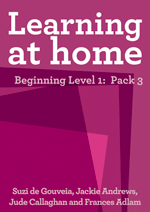 Learning at Home – Beginning Level 1: Pack 3