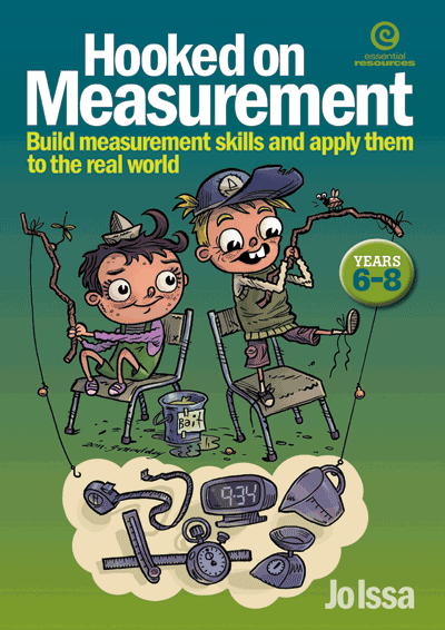 Hooked on Measurement Yrs 6-8: Building measurement skills Cover