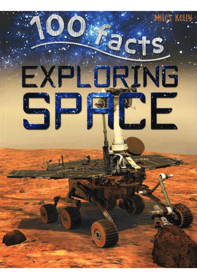 100 Facts - Exploring Space Cover