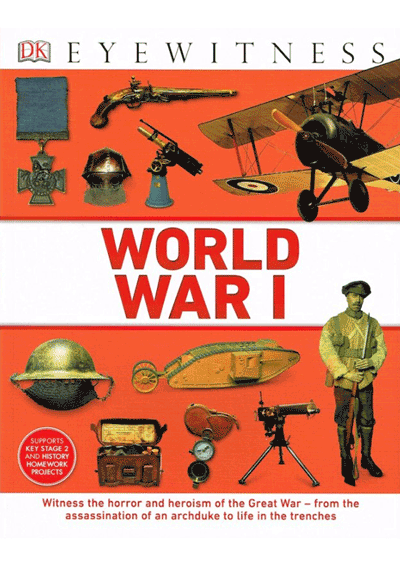 DK Eyewitness - World War I Cover