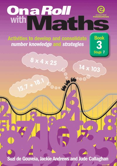 On a Roll with Maths Stg 7 Bk 3 Cover