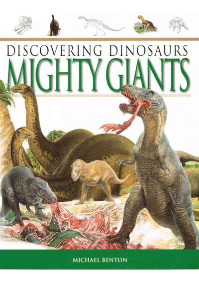 Discovering Dinosaurs - Mighty Giants Cover