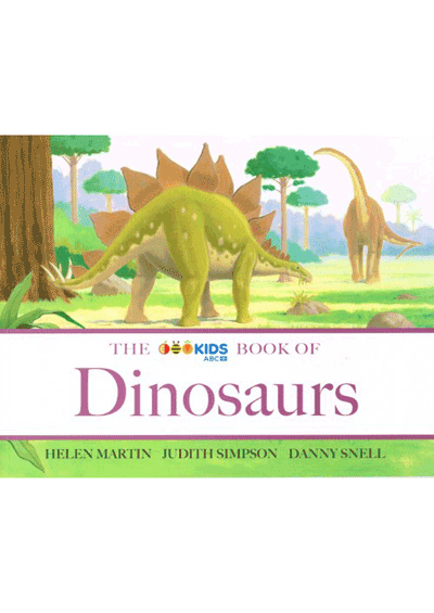 ABC Book of Dinosaurs Cover