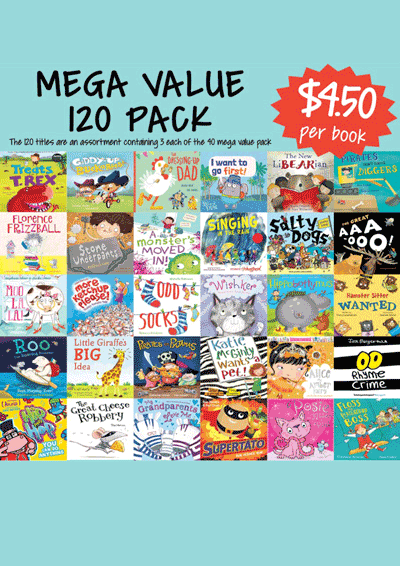 Mega Value Sale Pack - 120 Assorted picture books Cover