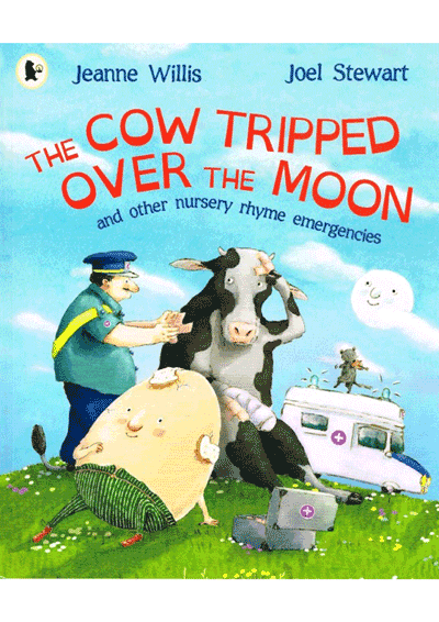 The Cow Tripped Over the Moon Cover