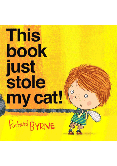 This Book Just Stole My Cat! Cover
