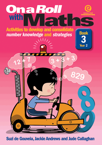 On a Roll with Maths Yr 2 Bk 3 Cover
