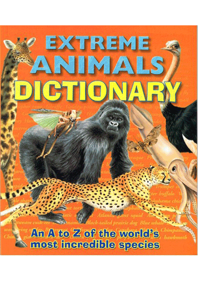 Extreme Animals Dictionary Cover