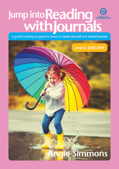 Jump into Reading with Journals L2,  2018-19 Cover
