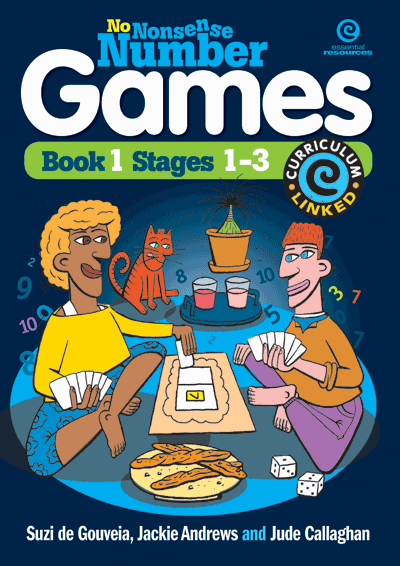 No Nonsense Number Games Bk 1: Stages 1-3 Cover