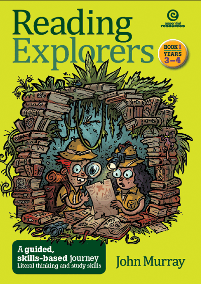 Reading Explorers Bk 1 Yrs 3-4: Literal thinking Cover
