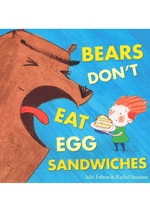 Bear's Don't Eat Egg Sandwiches