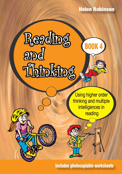 Reading, Thinking: Book 4 Cover