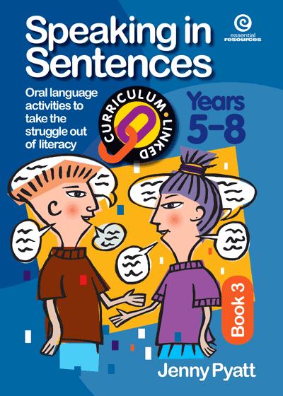 Speaking in Sentences Bk 3 (Ys 5-8) Cover